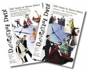 Dancetime DVD! 500 Years of Social Dance: 2 DVD Set