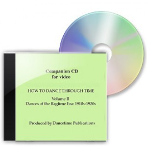 How To Dance Through Time, Volume II, Music CD